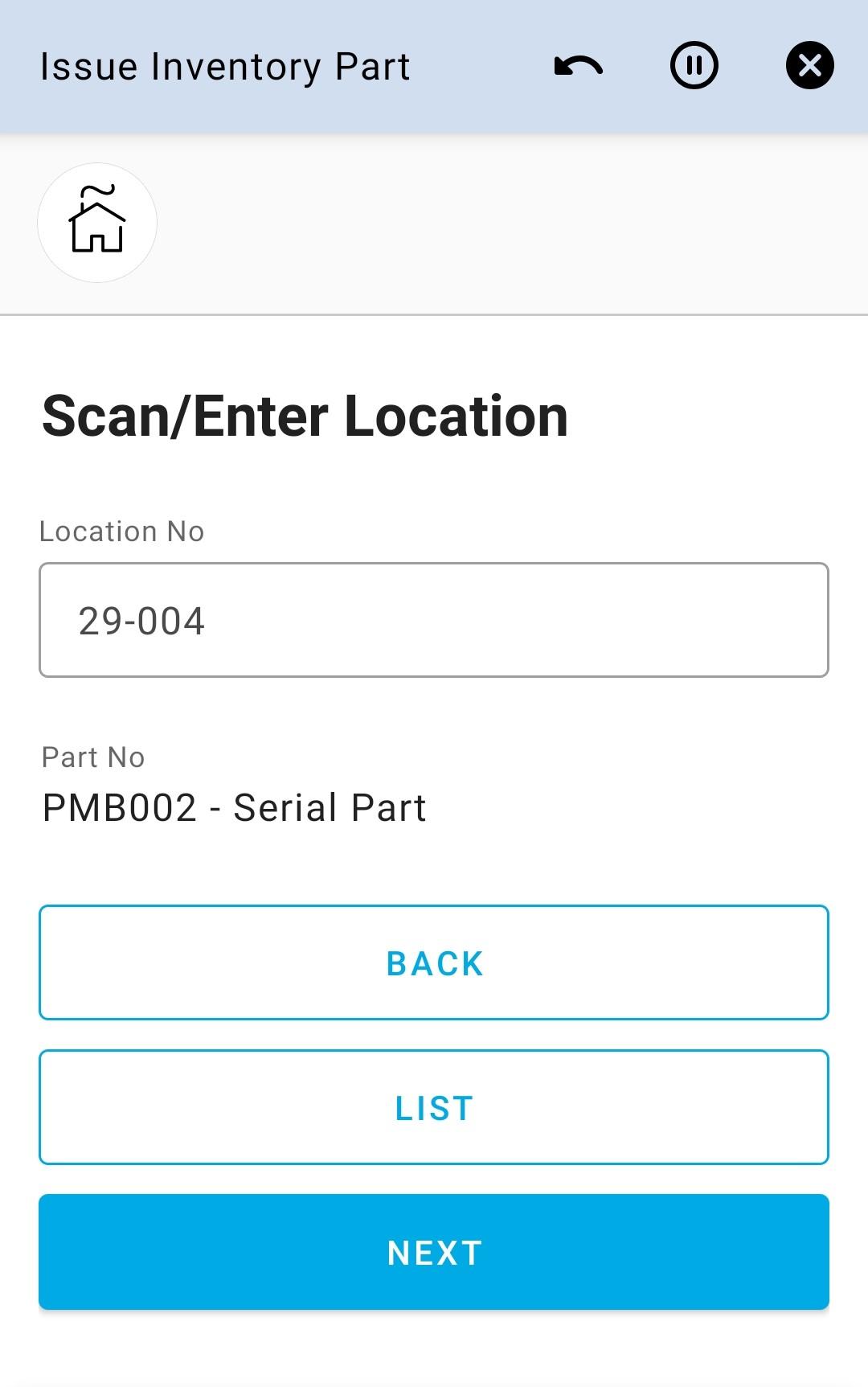 Enter Location