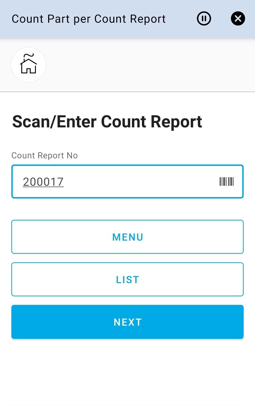 Enter Report No