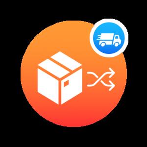Move Parts Between Shipment Inventories