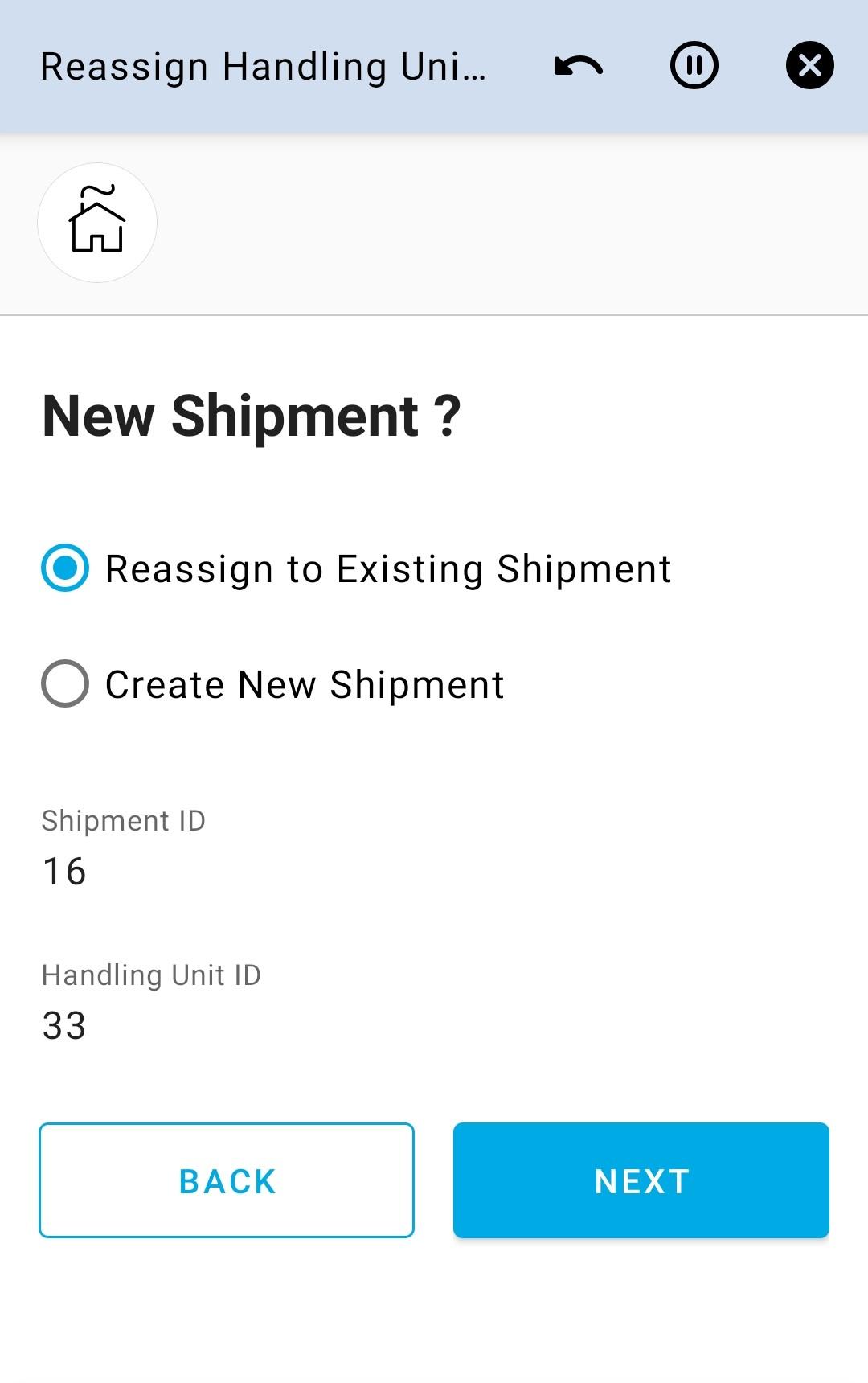 New Shipment