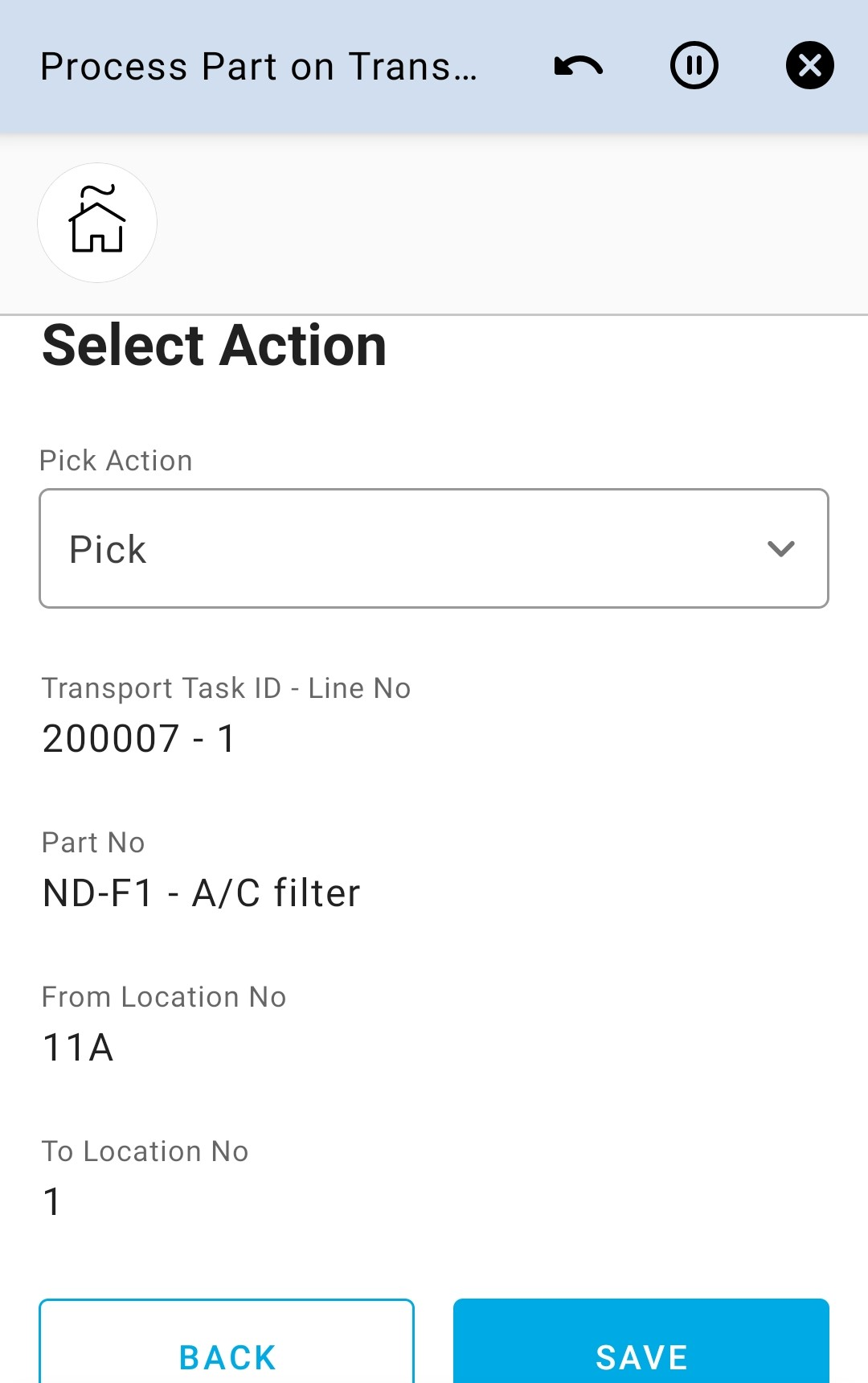 Select Action 4