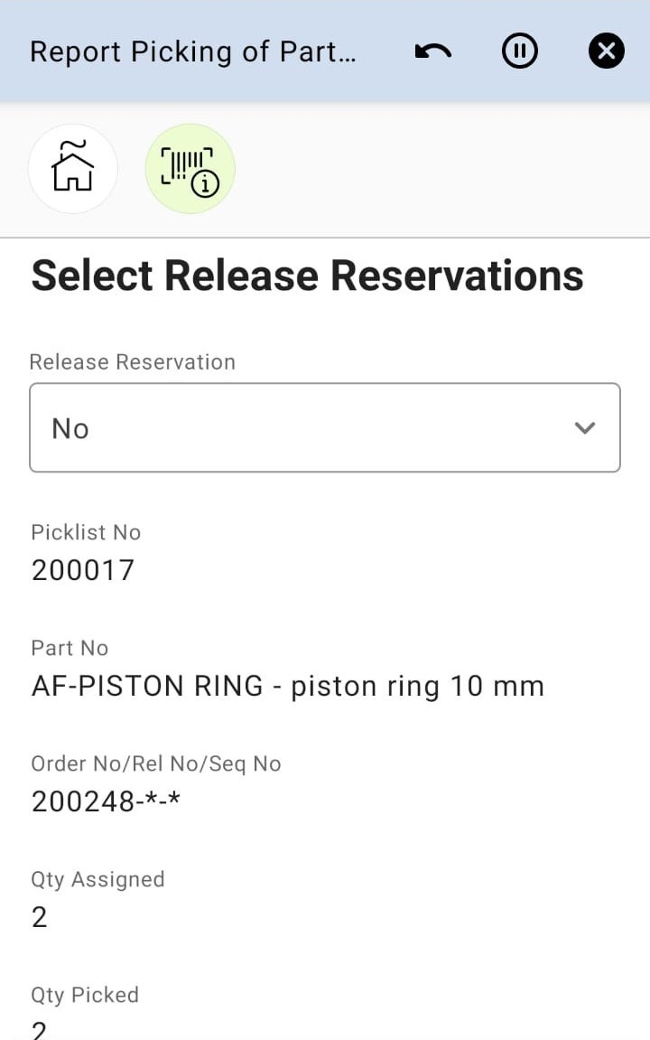 Select Reservation