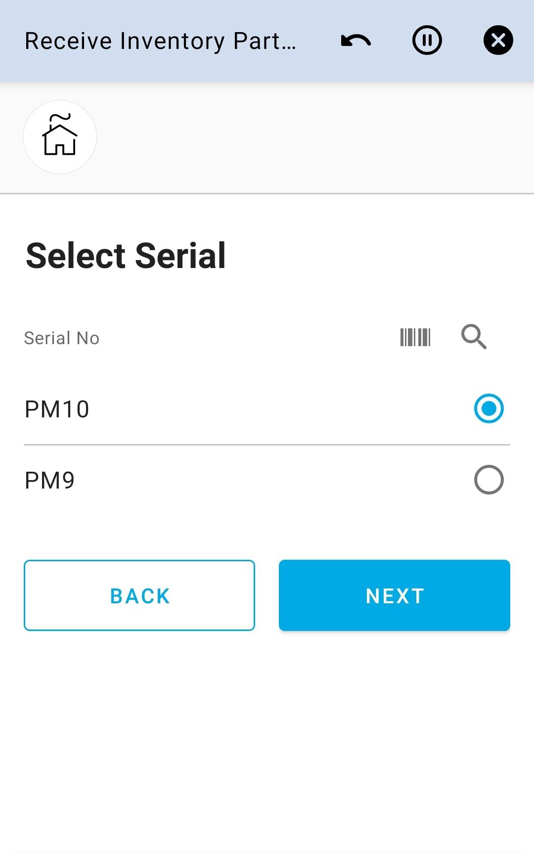 Select Serial 2