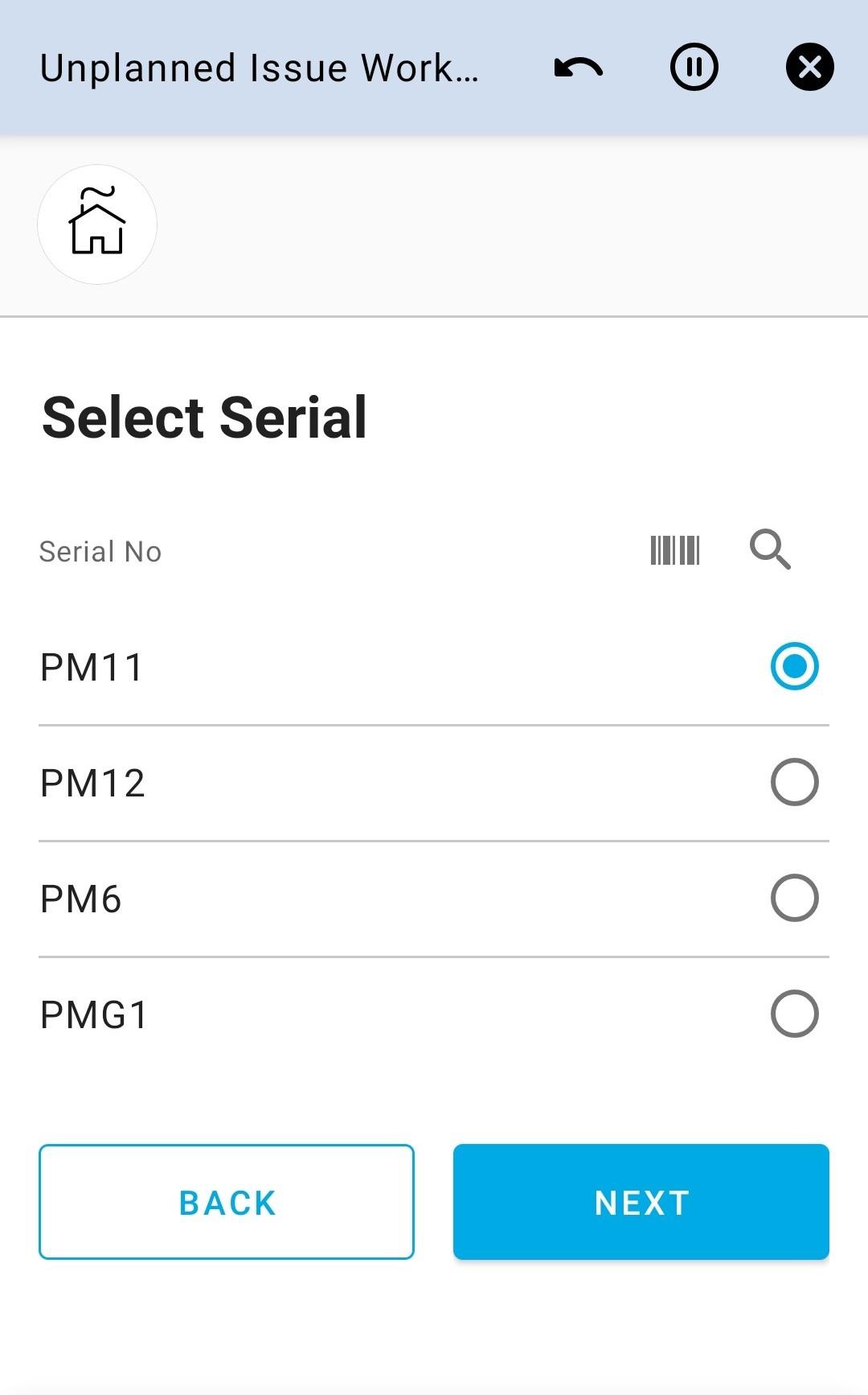 Select Serial 4