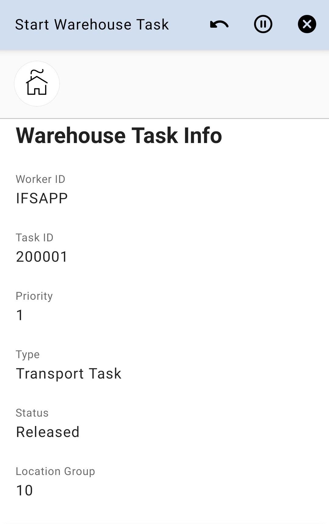 Task Info